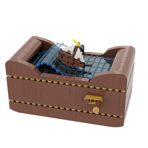 New: Ship at Sea 513pcs