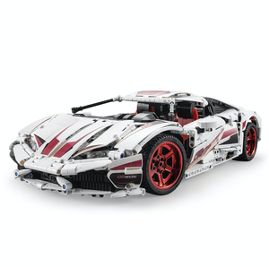 Remote Controlled White Bull 1696pcs