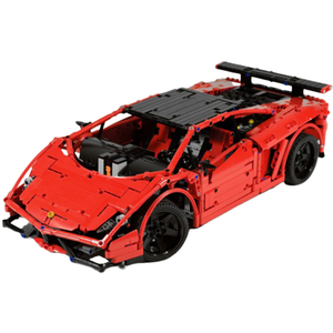 Remote Controlled Crimson Bull 1676pcs