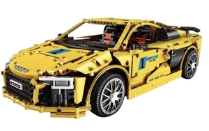 New: Electric Yellow V10 1896pcs