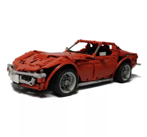 New: Remote Controlled 1968 American Muscle 1184pcs