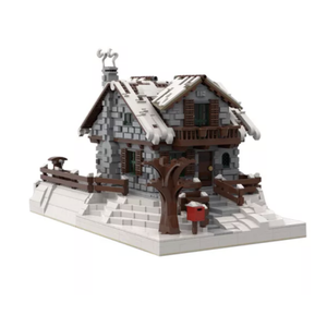 New: Winter Chalet 4094pcs