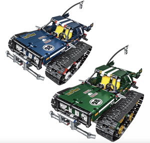 Remote Controlled Monster Truck Tank 625pcs