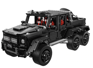 Remote Controlled 6x6 G63AMG 3309pcs