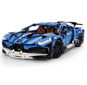 Blue Supercar 3858pcs