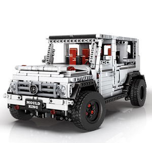New: Arctic Edition Remote Controlled Mercedes G63 AMG 1770pcs