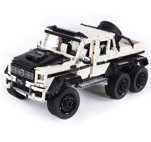 New: Arctic Edition Remote Controlled 6x6 G63AMG 3309pcs