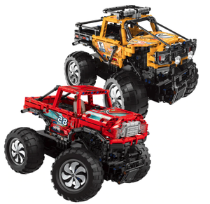 Remote Controlled High Speed Monster Truck