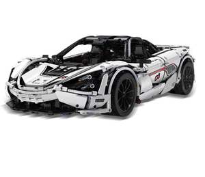 White 1:8 Supercar 3179pcs