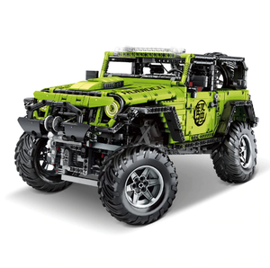 New: Jeep Wrangler Rubicon 2342pcs