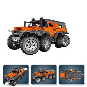 Remote Controlled 8 Wheel Drive Shaman 2959pcs