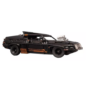 New: Black Interceptor 1510pcs