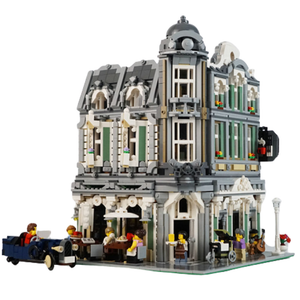 New: European Jazz Cafe 3262pcs