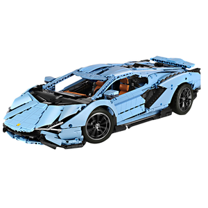 New: Remote Controlled Cerulean Bull 3868pcs