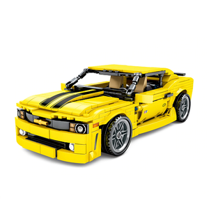 Yellow Sports-car 558pcs