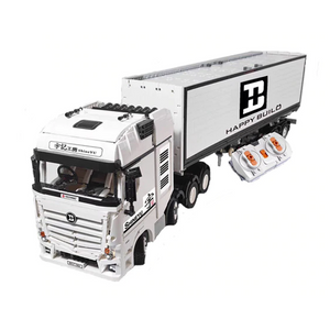 New: Remote Controlled Cargo Truck 2949pcs