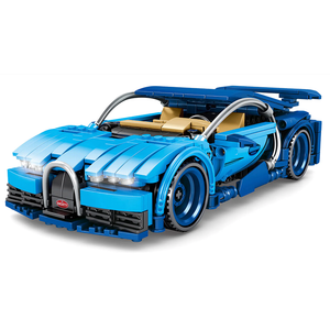 Blue Hypercar 641pcs