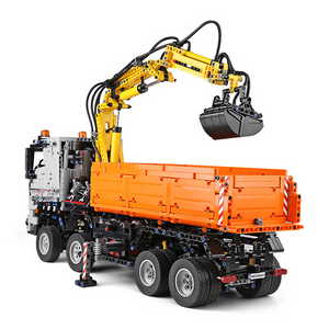 New: Remote Controlled Construction Truck 2819pcs