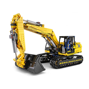 New: Remote Controlled Digger 1829pcs