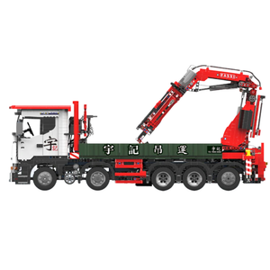 New: Remote Controlled Crane Truck 3925pcs