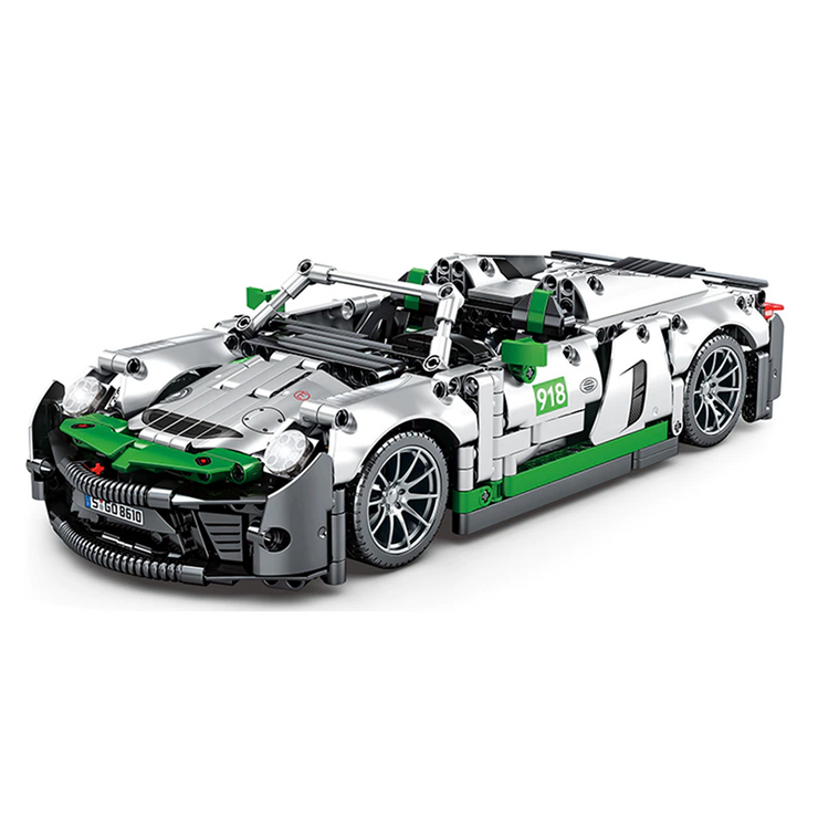 New: Remote Controlled German Hypercar 1016pcs
