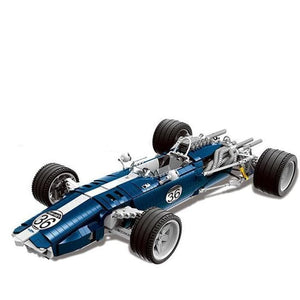 1960s Formula One Racecar 1758pcs
