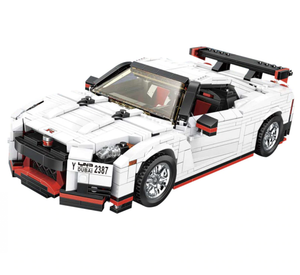 New: Nissan GTR R35 1024pcs