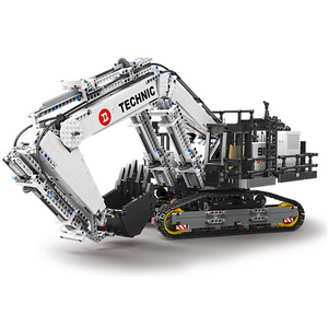 New: Remote Controlled Heavy Duty Loader 4342pcs