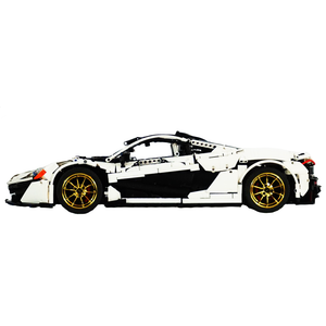 New: Arctic Edition McLaren P1 3725pcs