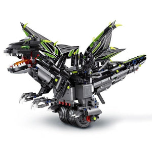 Remote Controlled Dragon 1297pcs