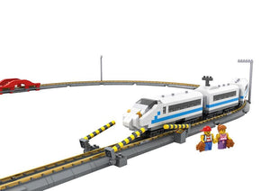 Remote Controlled High Speed Train 660pcs
