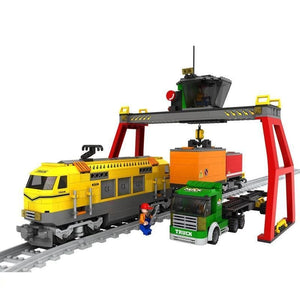 Cargo Train with Loading Station