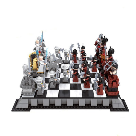 Collector's Edition Chess Set 1142pcs
