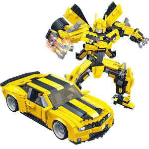 2in1 Robot & Car 584pcs