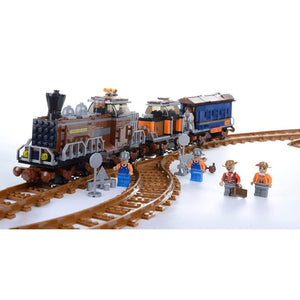 Wild West Train 663pcs