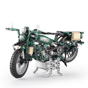 Electric WWII Motorcycle 550pcs