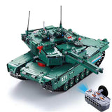 Limited Edition M1-A2 Remote Controlled Tank 1498pcs