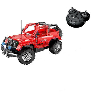 Remote Controlled Jeep Wrangler 531pcs