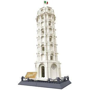Leaning Tower of Pisa 1392pcs