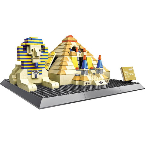 Sphynx and Pyramid 624pcs