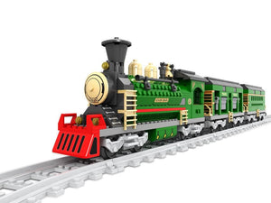 Steam Locomotive 666pcs