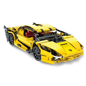 New: Remote Controlled Yellow Bull 456pcs