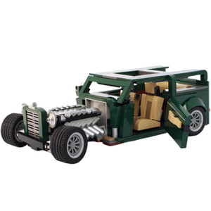 New: Rat Rod 1011pcs