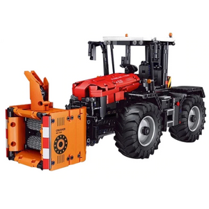 New: Remote Controlled Tractor 2716pcs
