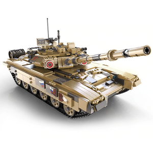 New: Remote Controlled Tank 1722pcs