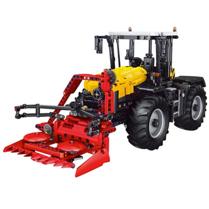 New: Remote Controlled Tractor 2596pcs