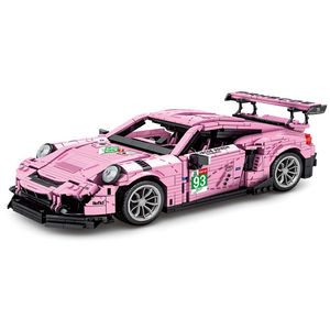 "New: ""Pink Pig"" Racecar 1063pcs"
