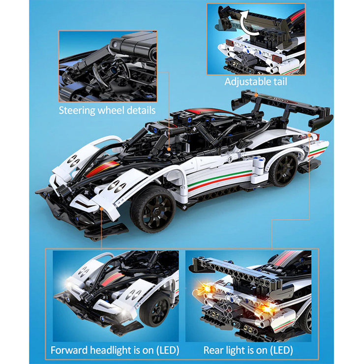 Remote Controlled Zonda 457pcs