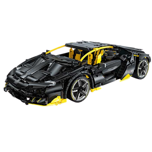 Remote Controlled Black Bull 1848pcs