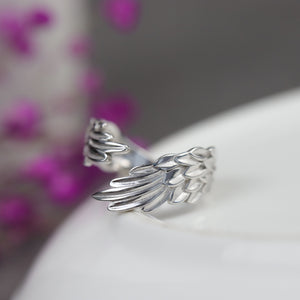Wings of Angel Open Ring